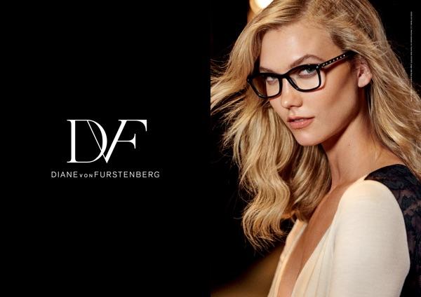 Diane Von Furstenburg Optical Glasses